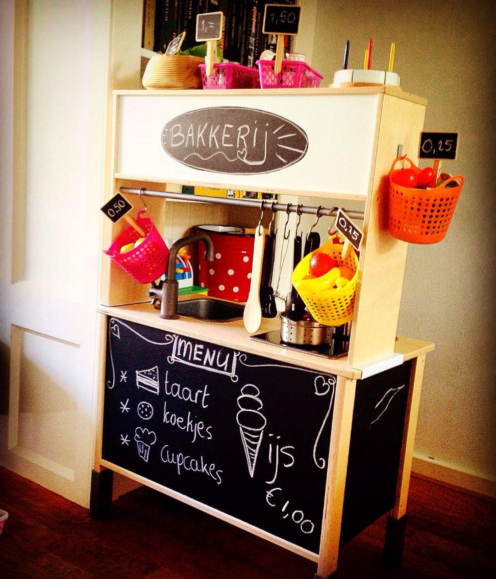 duktig ikea diy keukentje kindjes pinterest playrooms ikea hack and plays. Black Bedroom Furniture Sets. Home Design Ideas