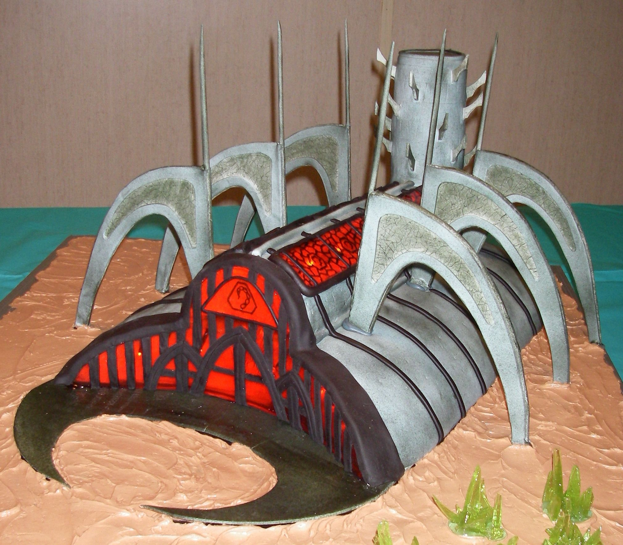 Command And Conquer Temple Of Nod Command And Conquer Building Cake Special Occassion