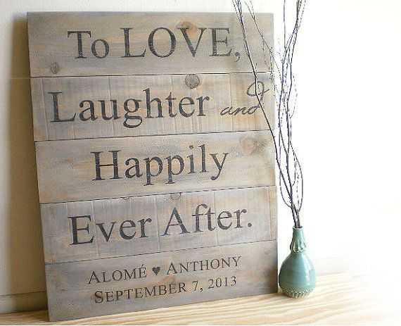 Country Signs Decor Brilliant Palletwoodwedding  Custom Wedding Signs  Rustic Barn Wood Decorating Design