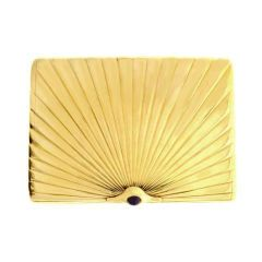 Gold case by Faberge