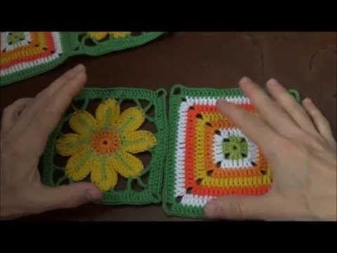 piastrella sunburst alluncinetto tutorial  YouTube