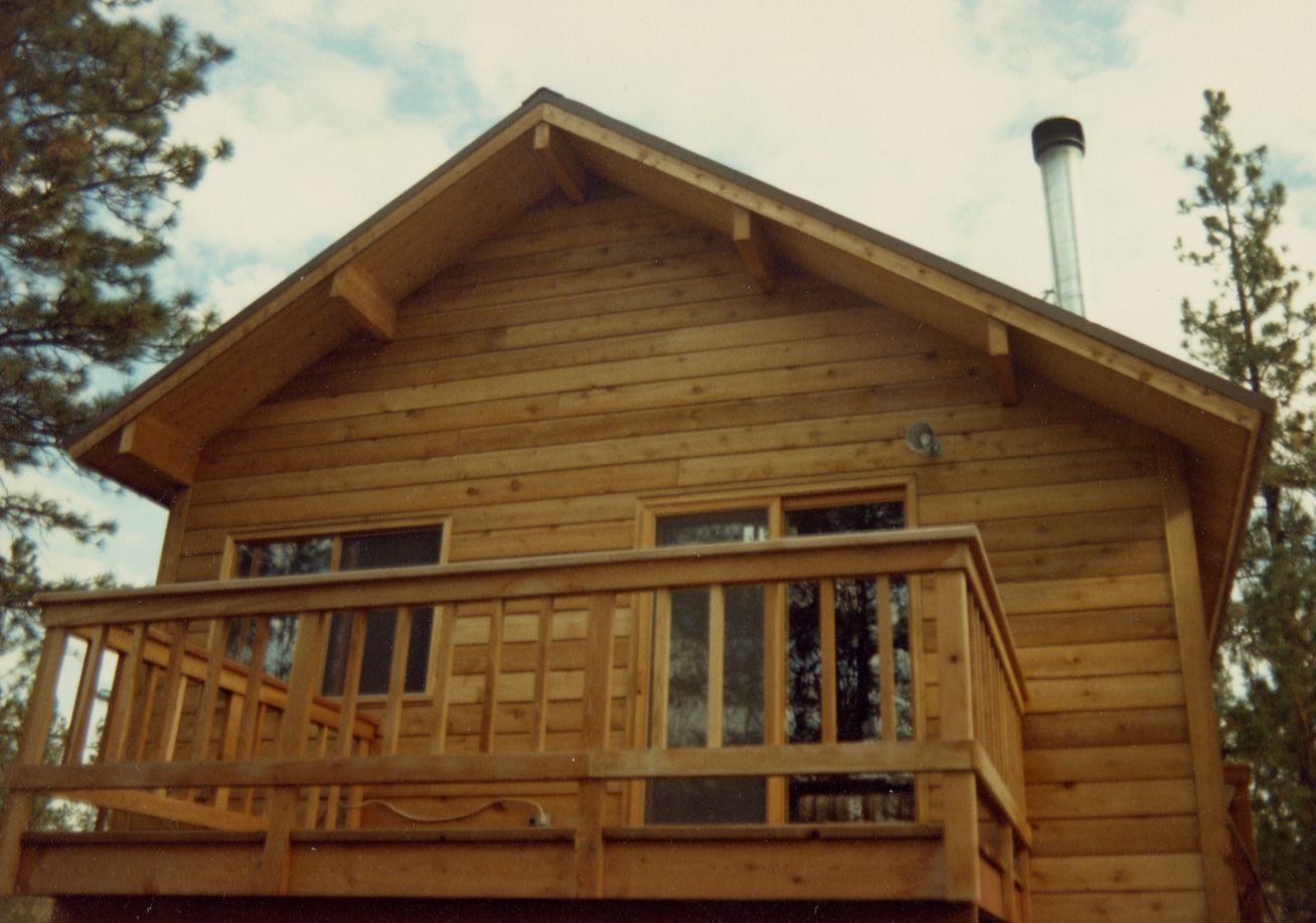 wood house siding | house displaying WRC tongue and groove siding ...