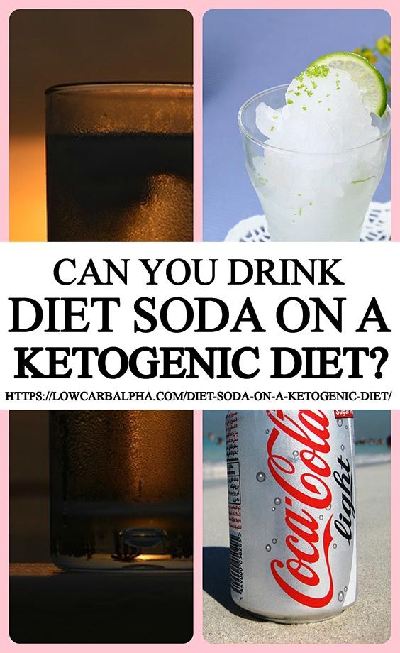 Diet Soda On A Ketogenic Diet Can You Drink It In Ketosis Diet Soda Ketogenic Keto Drink