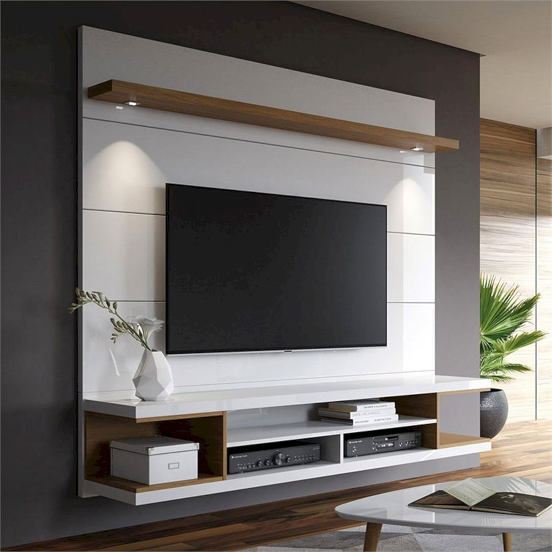 Amazing Tv Wall Design Ideas To Enhance Your Home Style Teracee Living Room Tv Wall Tv Room Design Living Room Tv