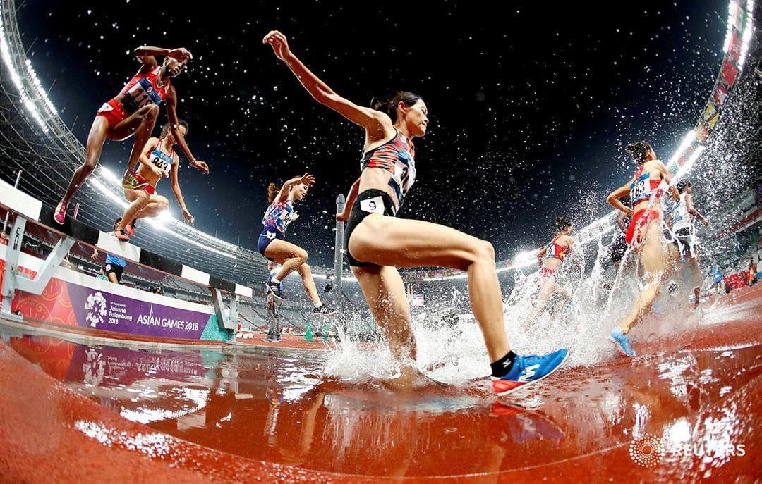 2018 Asian Games Women's 3000m Steeplechase at Jakarta