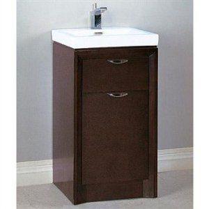 Fairmont Designs Caprice 18 Inch Vanity Sink Set Espresso