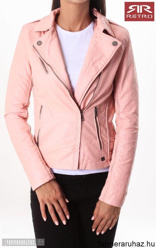 7a9549523b RetroJeans női kabátok | Divat,ruha,cipő | Leather Jacket, Leather ...