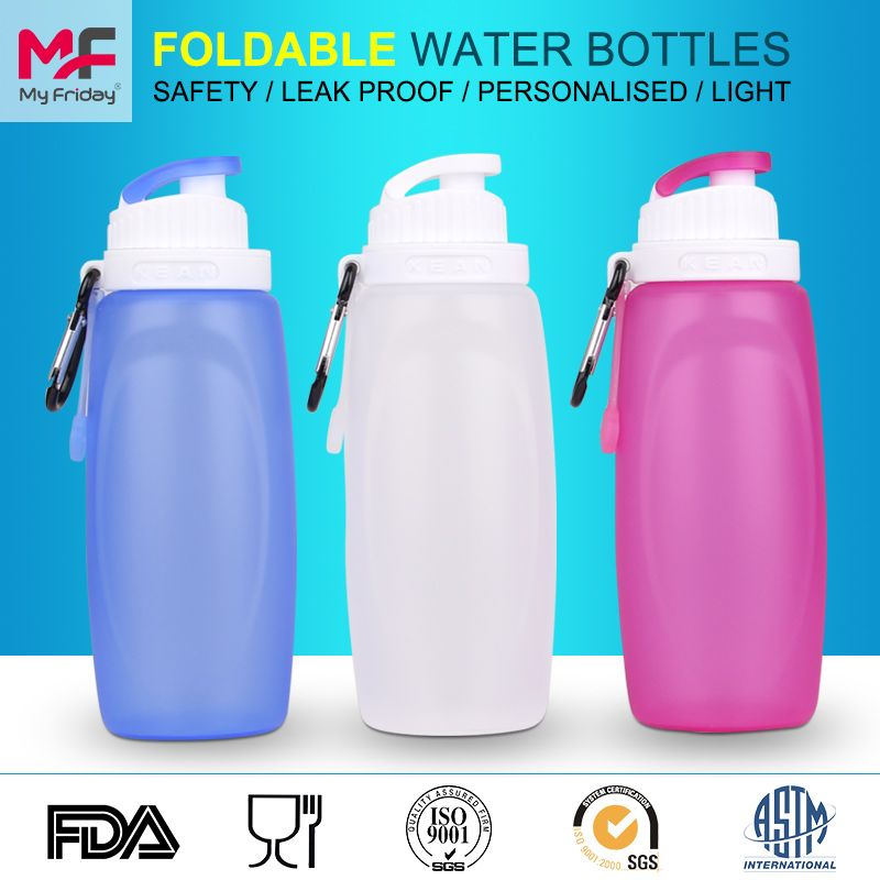 Bpa Free Quality Water Sports Bottle Best With Straw For Camping Water Bottle Bottle Foldable Water Bottle