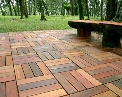Pisos de madera decoraci n del hogar pinterest madera piso de madera y pisos - Revestimientos de madera para exteriores ...