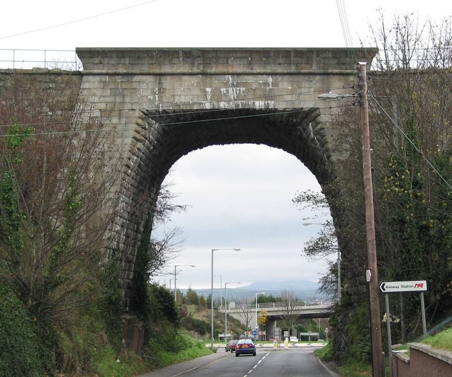 Egyptian Arch railway bridge near Newry, Northern Ireland ...