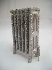 Pre-Victorian FIREPLACE IRONS 1//12 scale dollhouse metal miniature  ISL2744