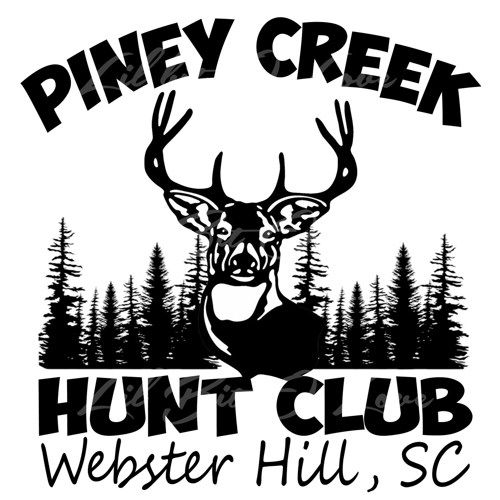 Custom Hunt Club Decals Personalized For Your Hunt Club Deer Hunting