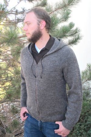 Knitting Pure and Simple Men\'s Sweater Patterns - 1212 - Zipper ...