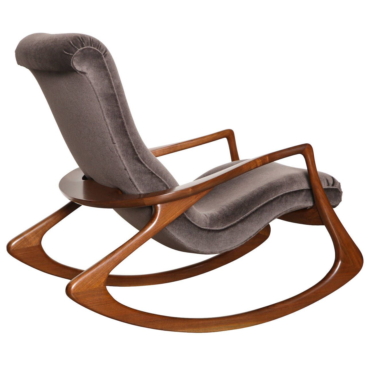 Chaise Rocking Chair Vladimir Kagan Rocking Chair Déco Assises Chaise à