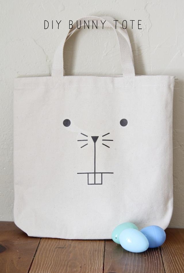 DIY bunny tote! | Costura | Pinterest | Bolsos, Bolsos de tela y Costura