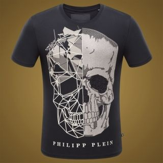 Buy Cheap Philipp plein Round Neck Men T-shirt Fashion Online Store From  China *