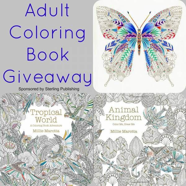 Heres A Giveaway Of Animal Kingdom And Tropical World Adult ColoringColoring BooksSenior