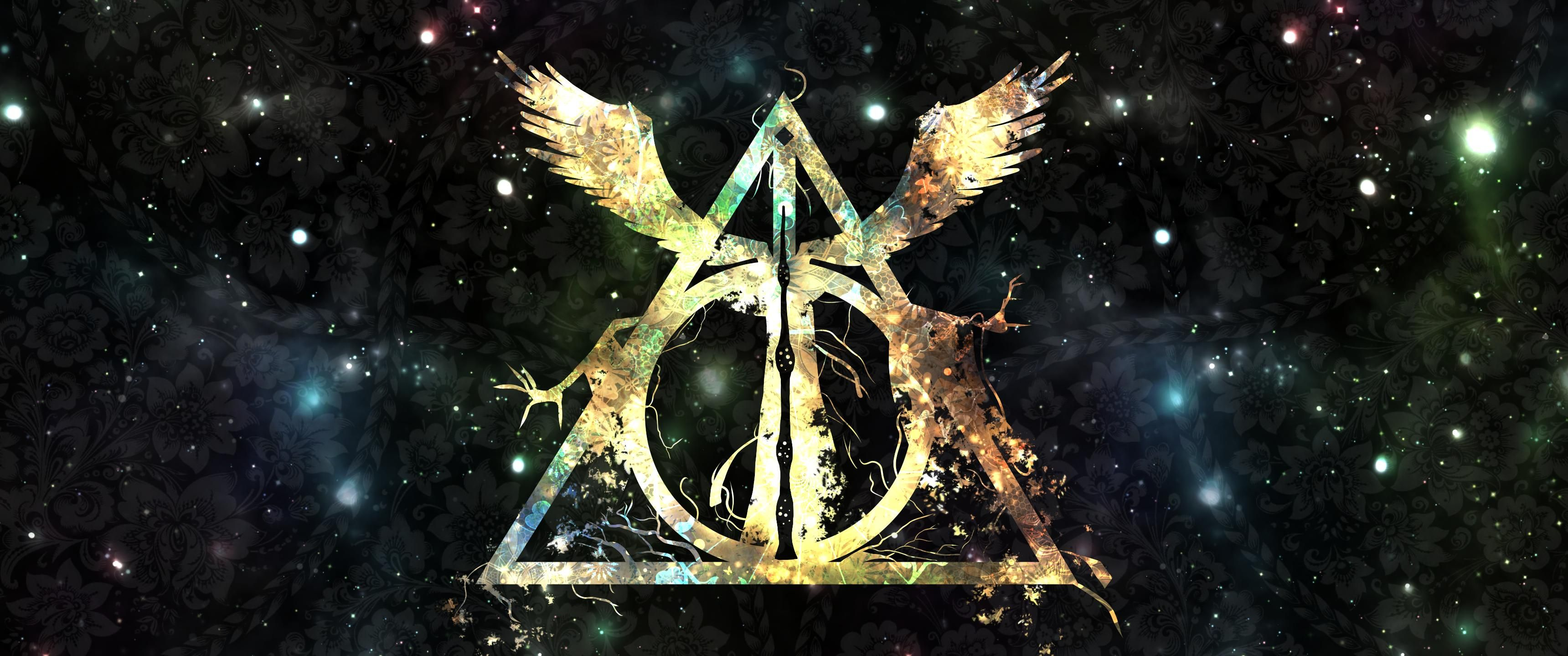 Harry Potter Wallpaper Deathly Hallows A