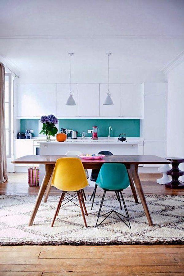 Les chaises de salle à manger - 60 idées - Archzine.fr | Chaises ...