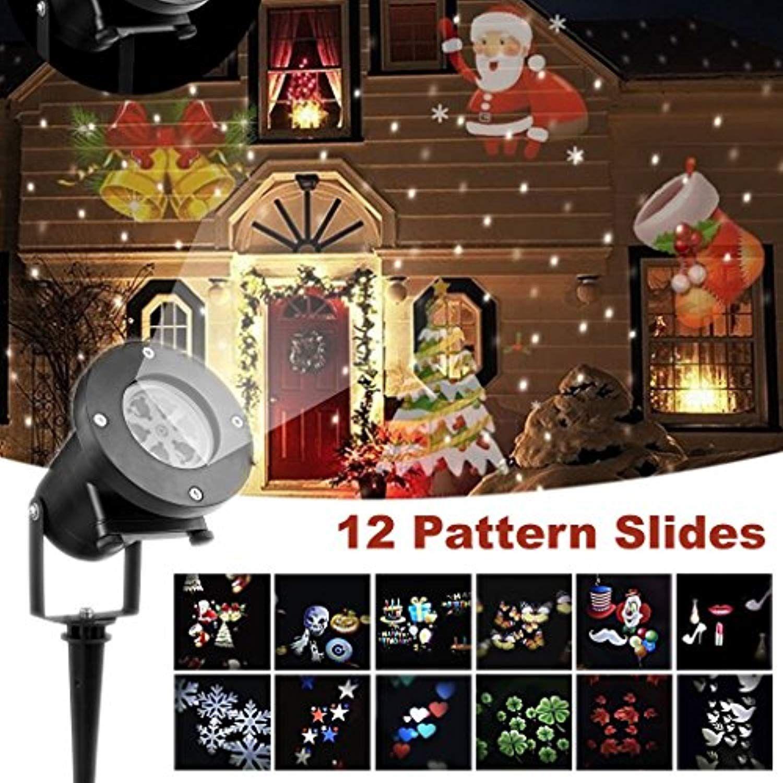 Projector Lights 12 Pcs Slides Outdoor