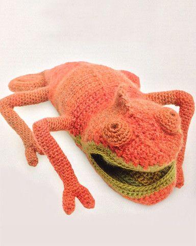 Amigurumi Froggie (I love this chameleon from VANESSA MOONCIE\'s book ...