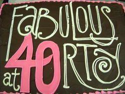 Fabulous At 40 Milestone Birthdays 40th Birthday