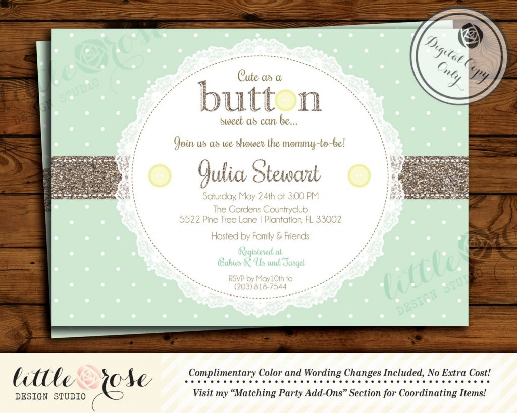 Enchanted Baby Shower Invitation Ideas Pinterest in Baby Shower Idea ...