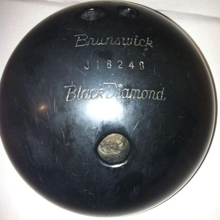 Burnswick Black Diamond Bowling Ball Sku J16240 Brunswick