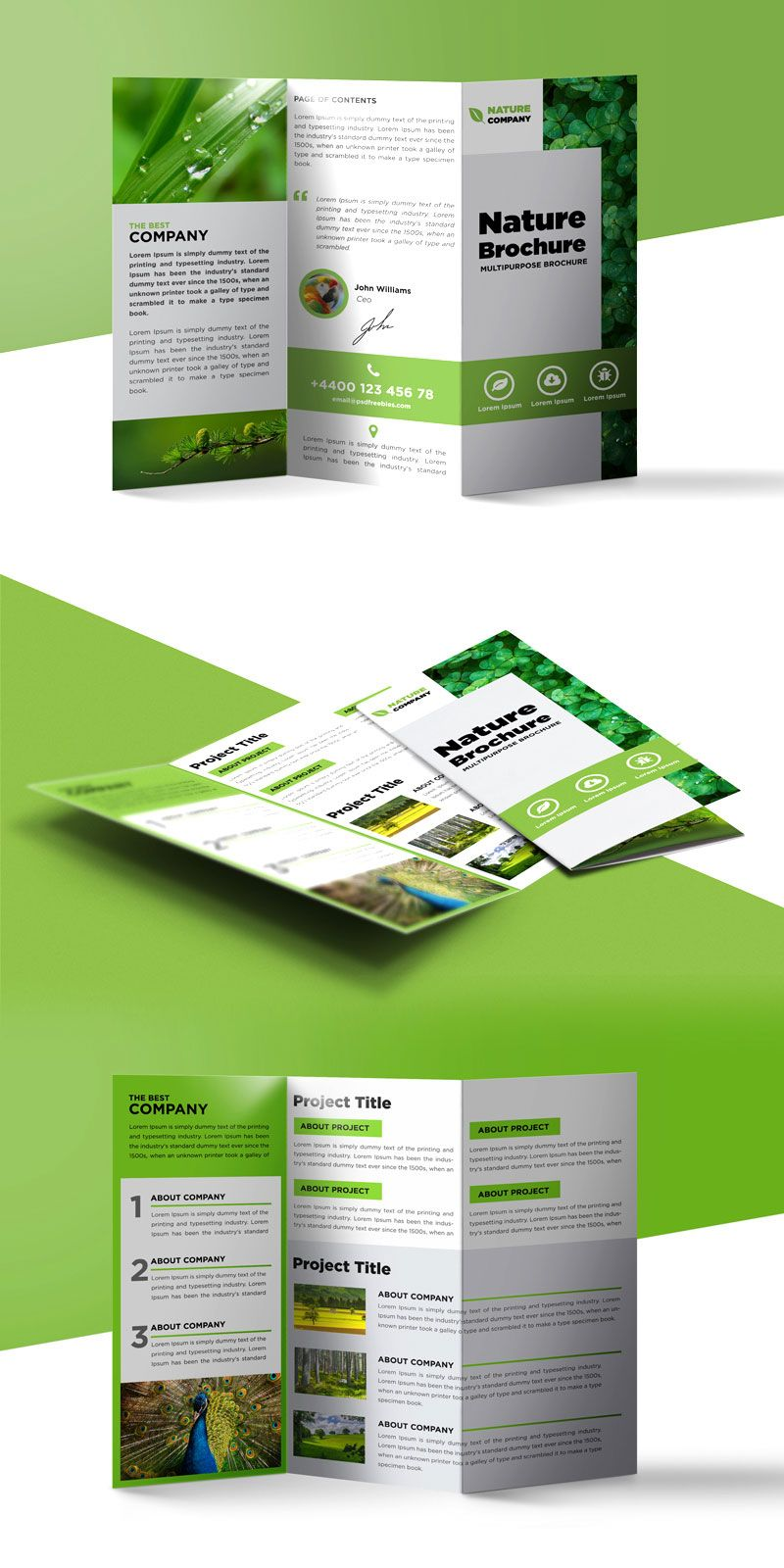 The Surprising Tri Fold Brochure Template A4 Free 1502 Intended For Free Three F Brochure Template Psd Free Brochure Template Brochure Templates Free Download