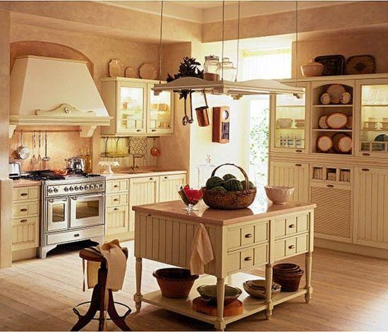 Rustikale Küchen sind schick und kommen wieder in Mode Pinterest