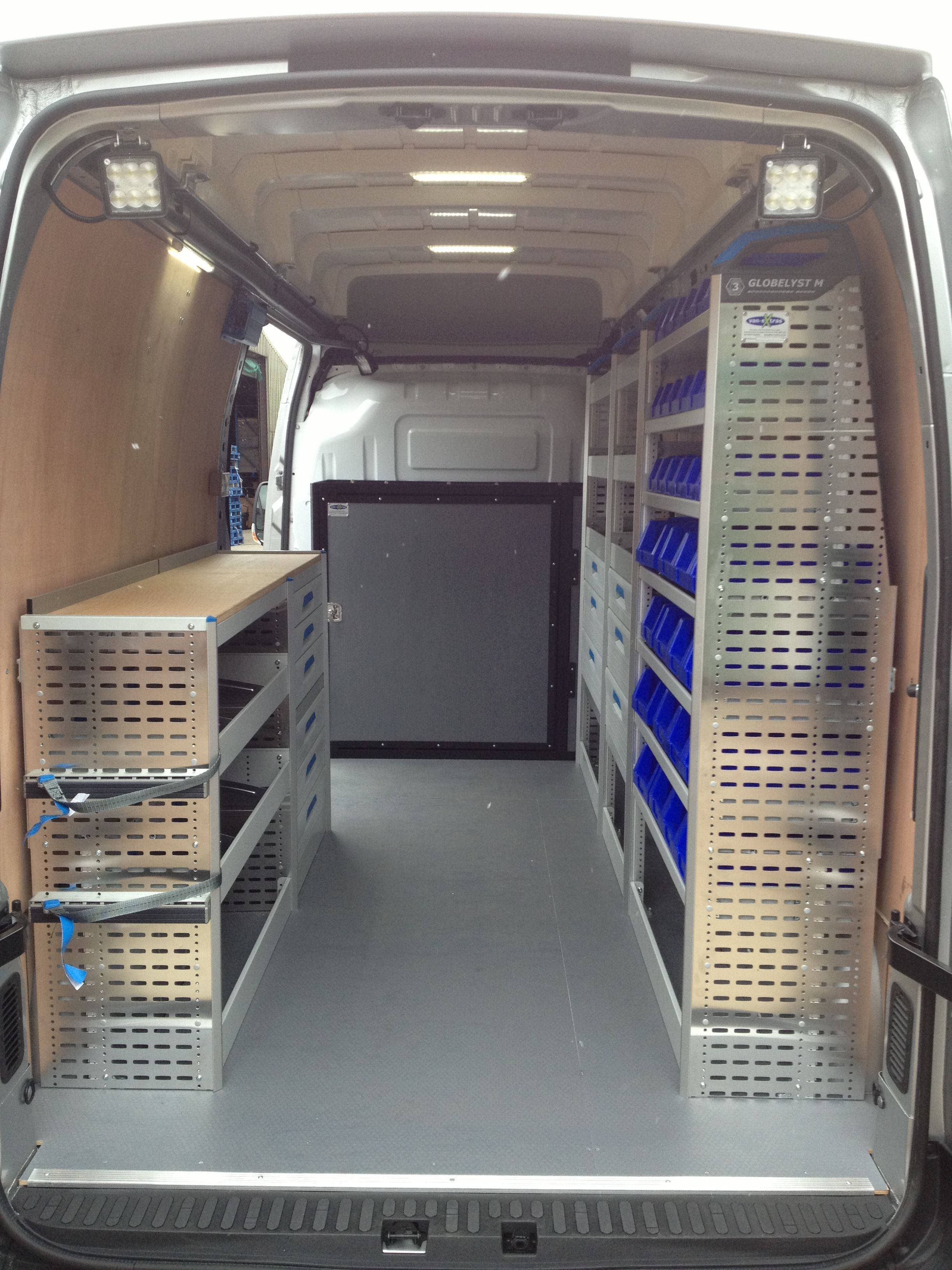 Sortimo Racking In Renault Master Van Shelving