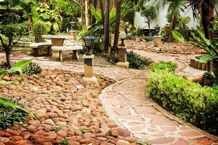 Photo of 17 Garden Path Ideas: Great Ways To Create A Garden Walkway