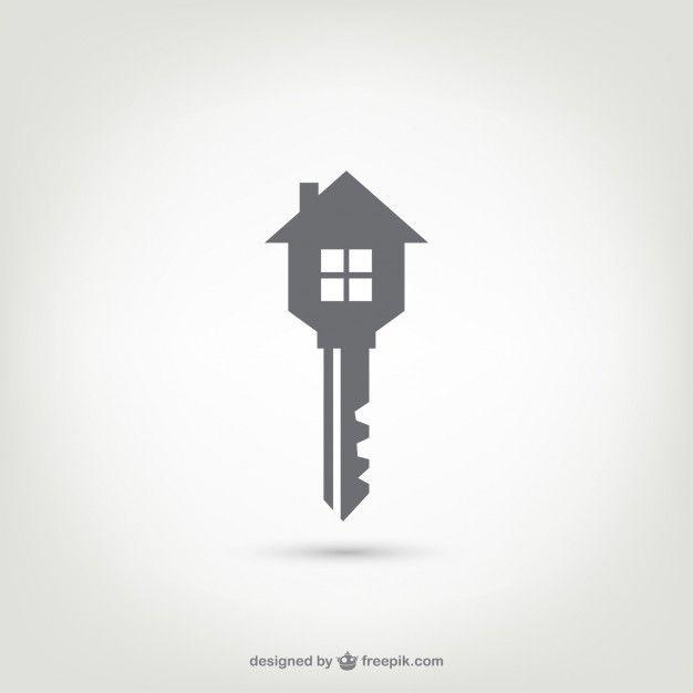 Key House Logo Vector Free Download Advertising Pinterest