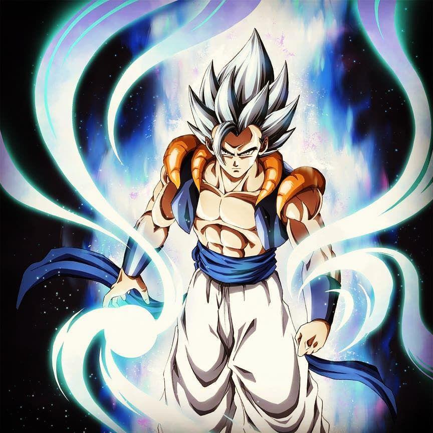 Gogeta Ultra Instinct Anime Dragon Ball Super Dragon Ball Super Manga Anime Dragon Ball