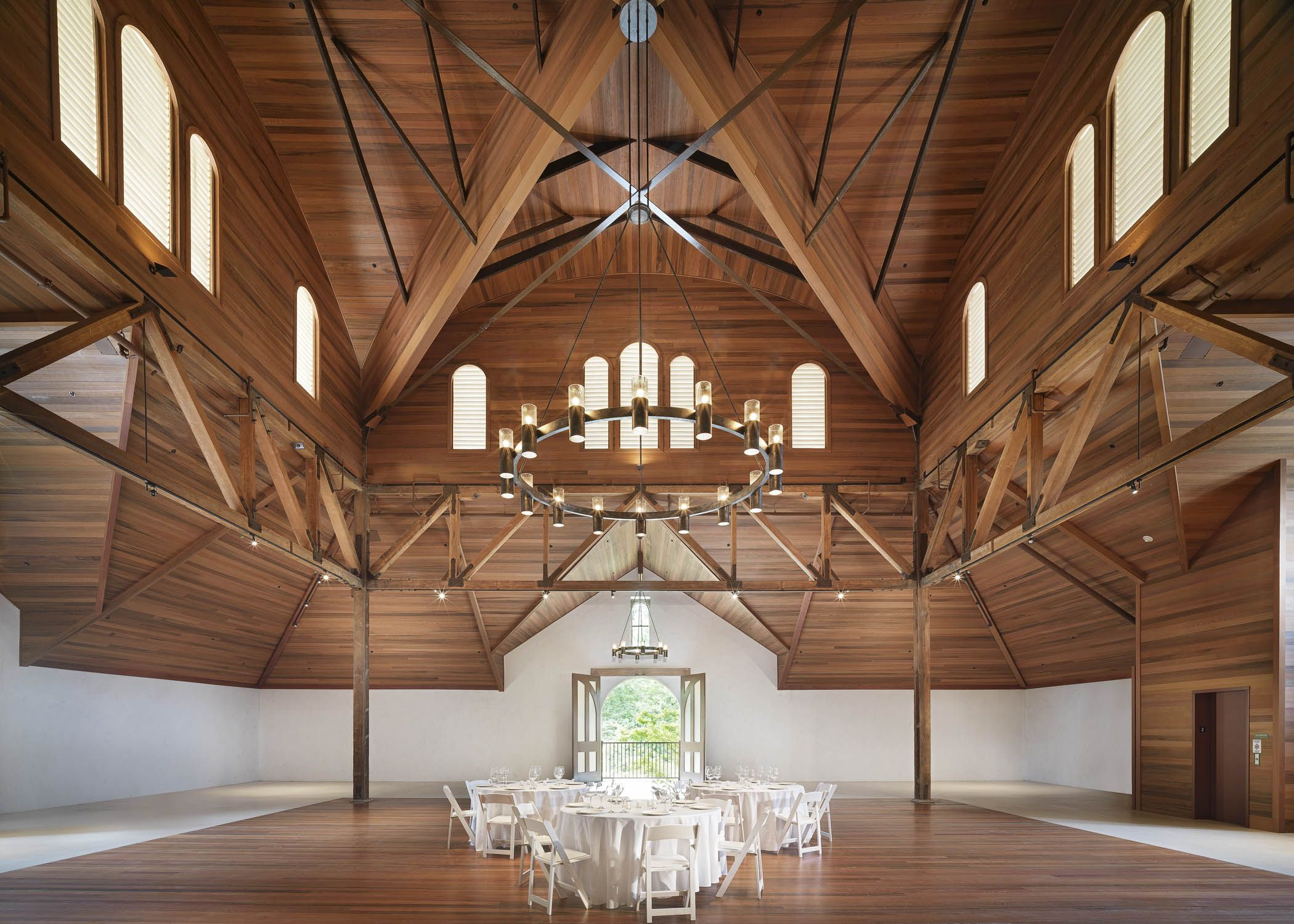 Inside the carriage house - Charles Krug Winery - Wedding in St ...