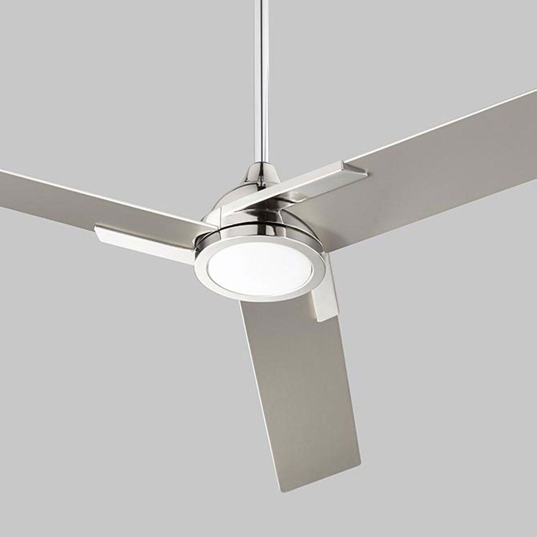 Oxygen Lighting Coda Polished Chrome 56 Inch Ceiling Fan 3 103 20