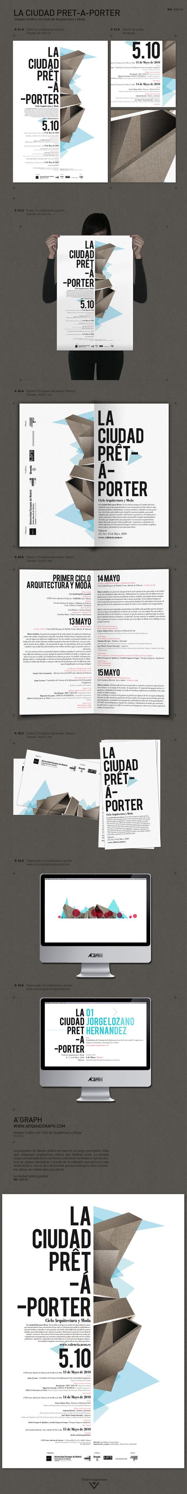 La Ciudad Pret A Porter On Branding Served Graphic Design Logo Grafic Design Graphic Design Typography