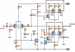Wondering How To Develope A Super Easy 120 Watt Amplifier Circuit