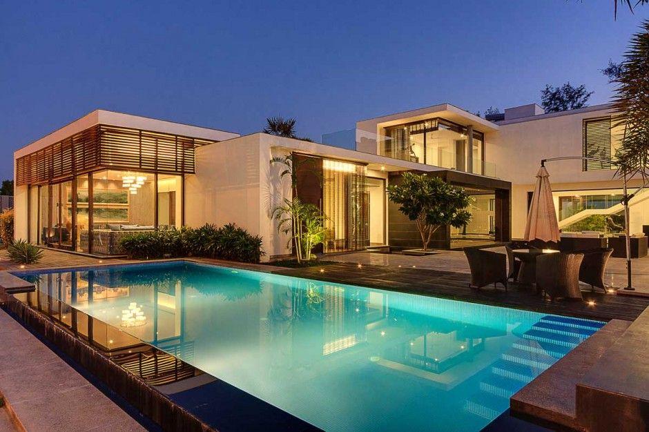 Cv 041114 07 Contemporist Architecture House Modern House Design Villa Design