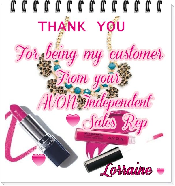 My personalized online Thank you note.