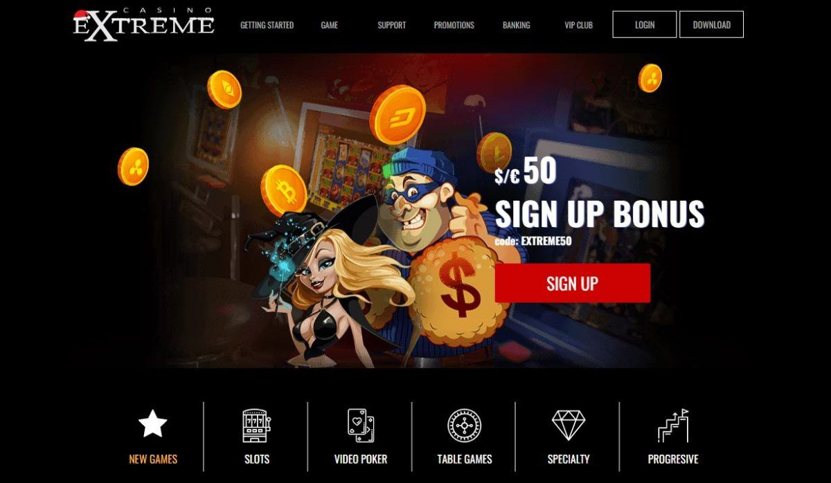 Exclusive Casino Extreme Bonus Codes En 2020