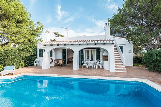 Villa Bini Mari in Binibeca, Menorca Sleeps 6 people in 3 bedrooms