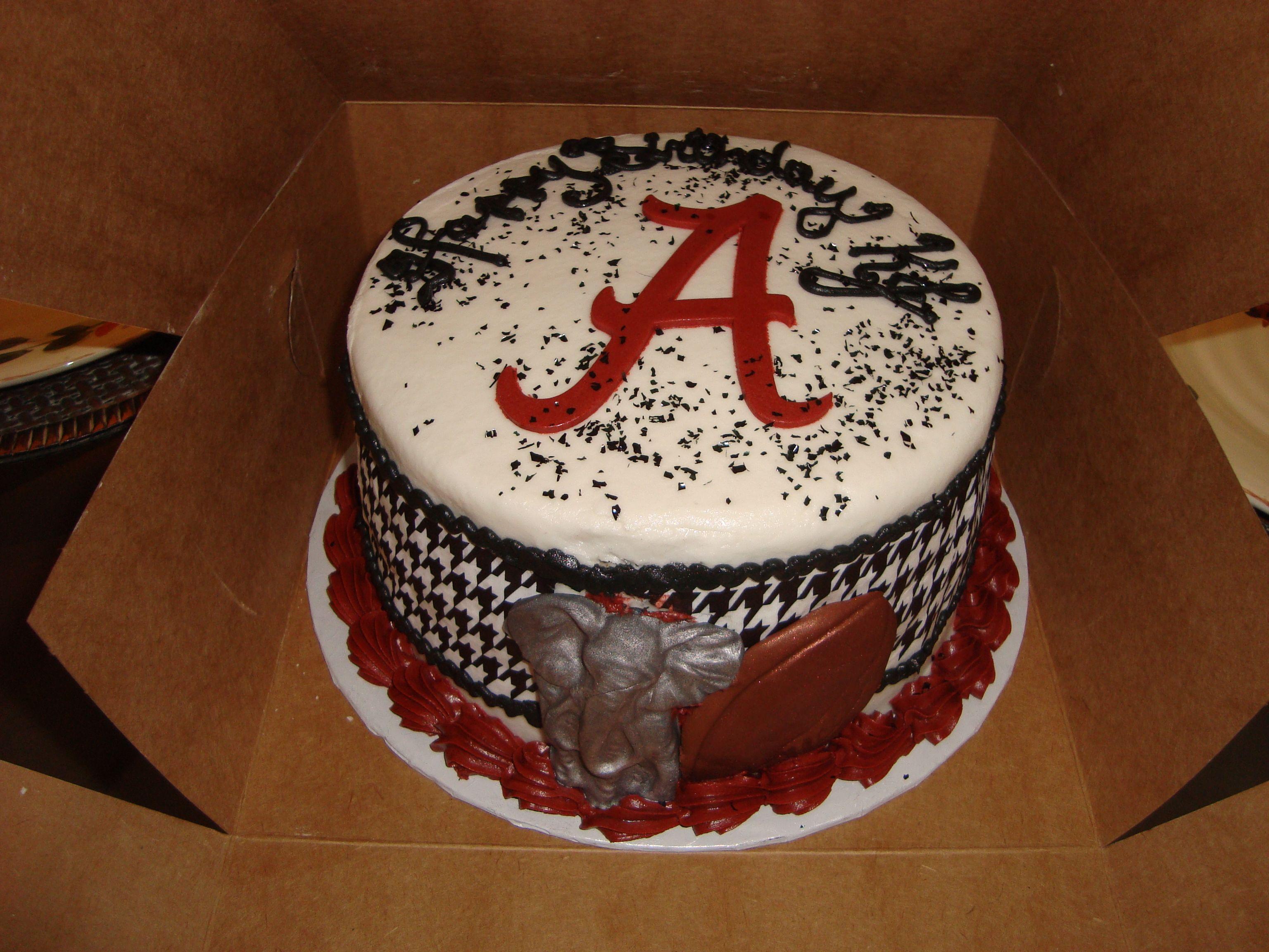 Alabama Birthday Cake Chandras Piece Of Cake In 2018 Pinterest