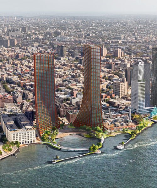 Bjarke Ingels Group + Field Operations Draw Up River