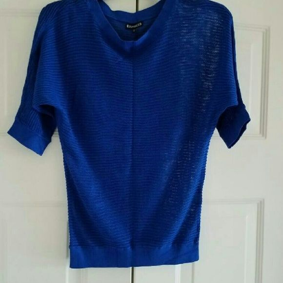 Express Open Knit Dolmen Sweater Open knit dolmen sweater from express. Excellent condition. Great for layering!! Express Sweaters Crew & Scoop Necks