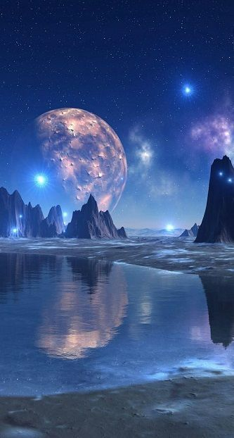 Fantasy And Science Fiction Collection In 2020 Fantasy Landscape Wallpaper Space Space Art