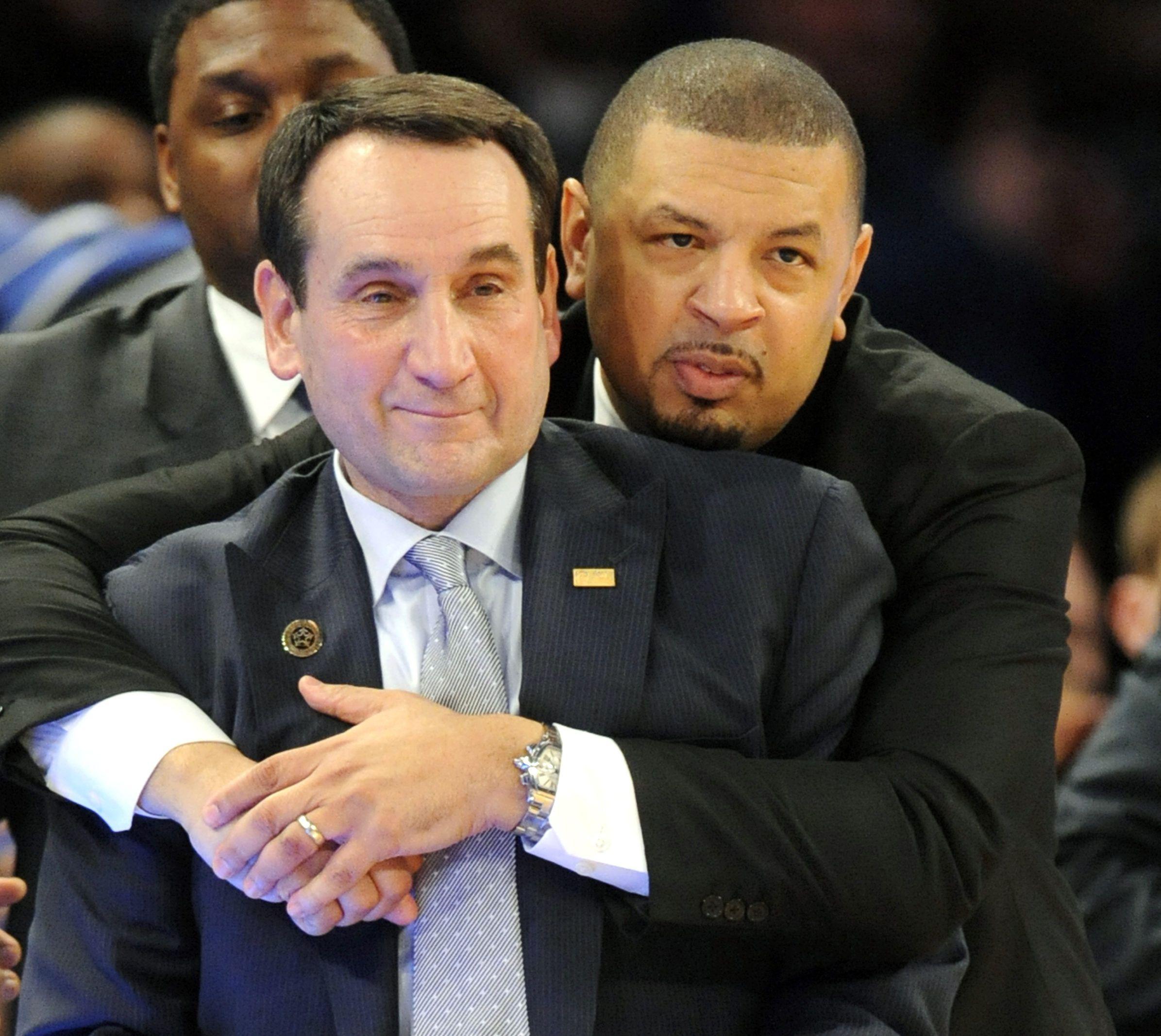 The Tree Duke basketball coach, Mike krzyzewski, Coach k