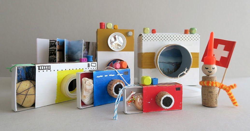 DIY Kamera-Box für Souvenirs aus den Ferien Souvenir, Box and Craft - design des projekts kinder zusammen