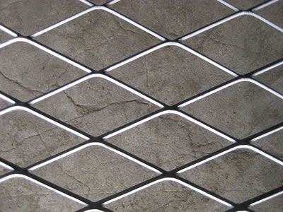Best A Piece Of Raised Expanded Metal Grating On The Ground 640 x 480
