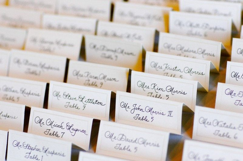 Custom place card escort card or seating chart calligraphy custom place card escort card or seating chart calligraphy invitation addressing to match 100 via etsy junglespirit Images